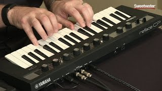 Yamaha Reface CP Synthesizer Demo by Sweetwater