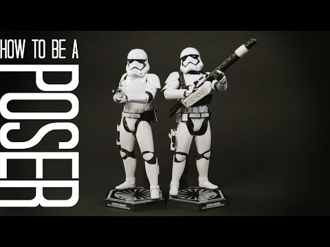 Star Wars Episode VII First Order Troopers Posed!