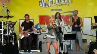 velvet swedish singer mi amore live rixfm halmstad