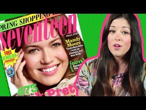 Seventeen Magazine To Stop Airbrushing Models?!