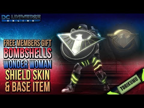 DCUO: Bombshells Wonder Woman's Shield - Weapon Style & Base Item (Free gift for members)