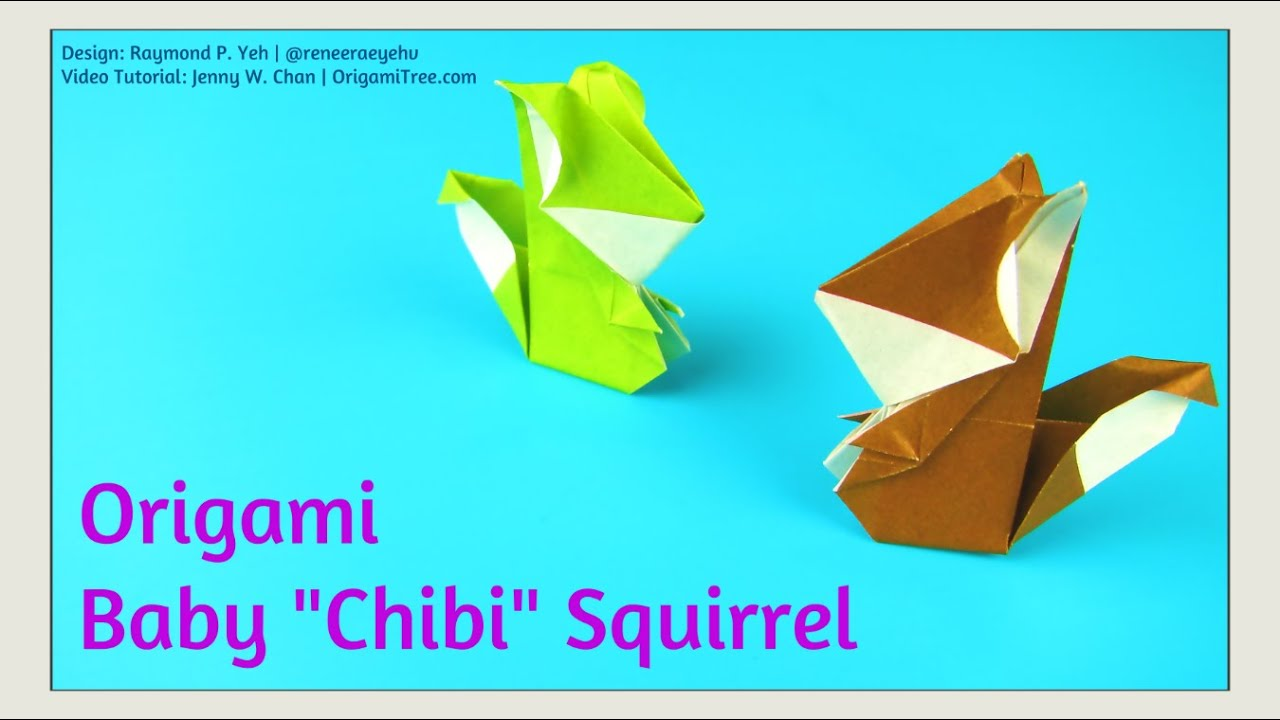 Origami squirrel origami baby chibi squirrel origami squirrel origami squirrel origami baby chibi squirrel origami squirrel tutorial paper crafts youtube jeuxipadfo Choice Image