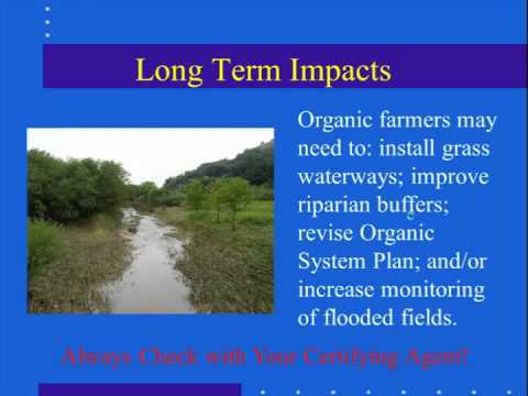Flooding and Organic Certification Webinar