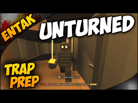 Unturned Multiplayer ➤ Car Chase, Shlutka's Ramblings, & Preparing Traps [#56]