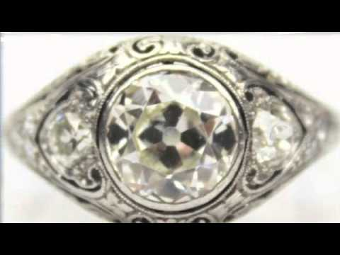 Antique Diamond Ring & Chinese Tianhuang Stone   Auction Results   Appraisal