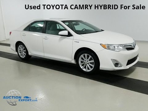 Used Toyota Camry Hybrid For Shipping To Norway