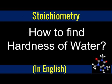 How To Find Hardness Of Water