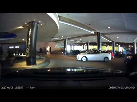Coolest Valet Parking Area. Beverly Center Shopping Mall in Los Angeles, Driving tour.