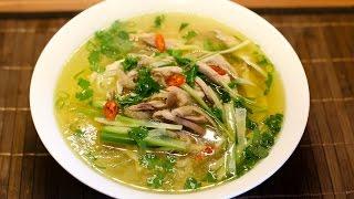 Homemade Pho Ga - Vietnamese Chicken Noodle Soup