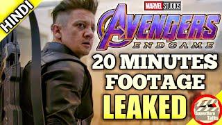 Avengers: Endgame 20 Minutes Leaked [Explained in Hindi]   Superhero Talks
