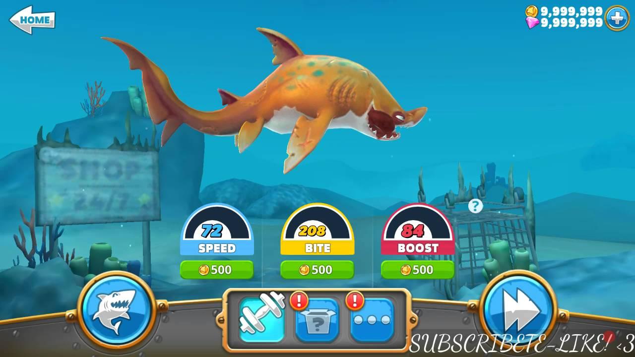 descargar hungry shark hack
