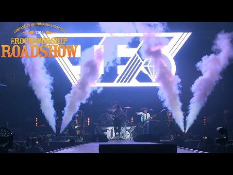 Family Force 5 performing live at The Rock & Worship Roadshow 2016