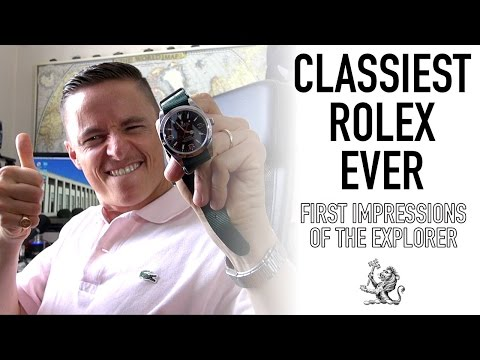 Swapping A Sinn 104 For A Rolex?!? - Explorer 214270 First Impressions & Seiko Saturday Giveaway