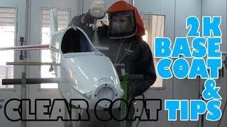 2K Base coat & clear coat tips
