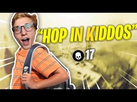 ALRIGHT KIDS HOP IN MY BACKPACK - FORTNITE WITH MMG