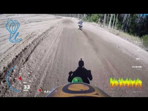 RANCH MX // Onboard Kx250f