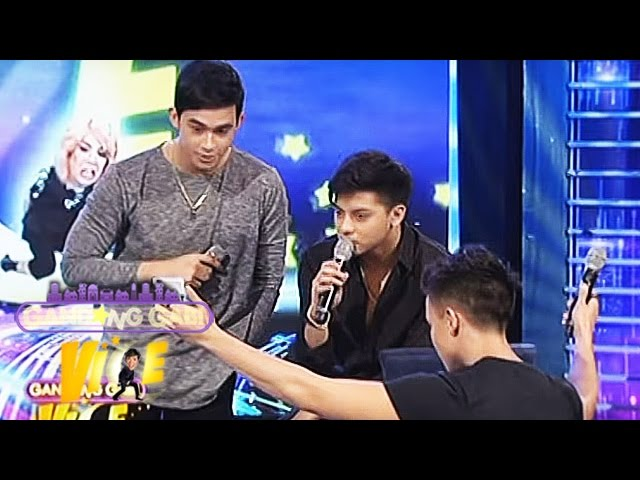 GGV: Daniel sings What You Won't Do For Love with Alex and Diego