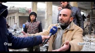 عشرات الشهداء والجرحى جراء استهداف السوق في معرة النعمان