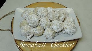 Snowball Cookies! | Ep #181