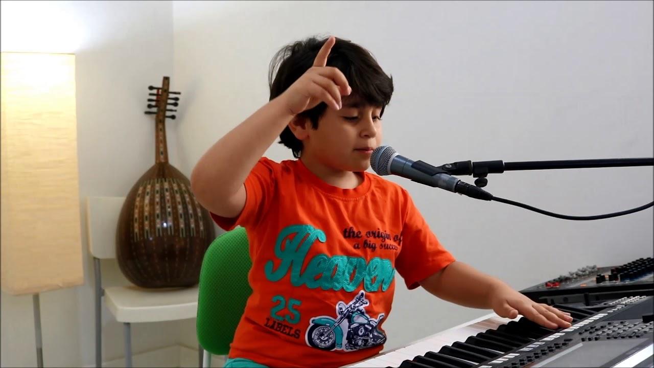 عبدالله ياسر yasser_singer يعزف ويغني ( الي هنا ) ديانا الحداد..!! #1