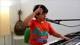 عبدالله ياسر يعزف ويغني ( الي هنا ) ديانا الحداد..!!