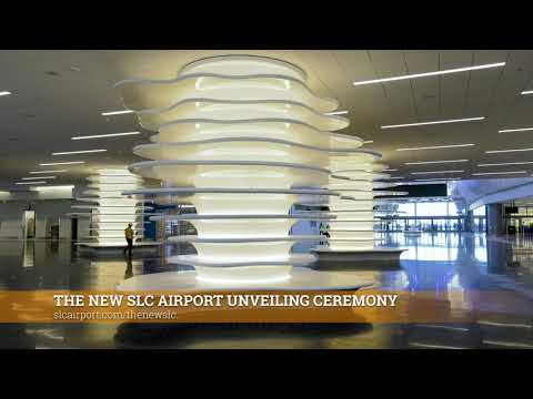Salt Lake City Look Back – The New SLC Airport Unveiling Ceremony