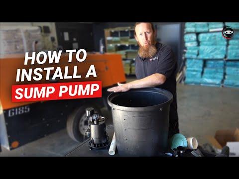Sump Pump Installation and Repair in Dallas