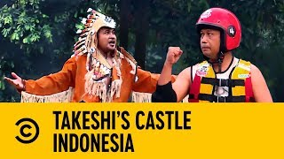 The Victory Twerk With Vick Hope | Takeshi's Castle Indonesia