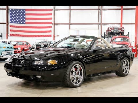 2000 Ford Mustang GT Convertible Black
