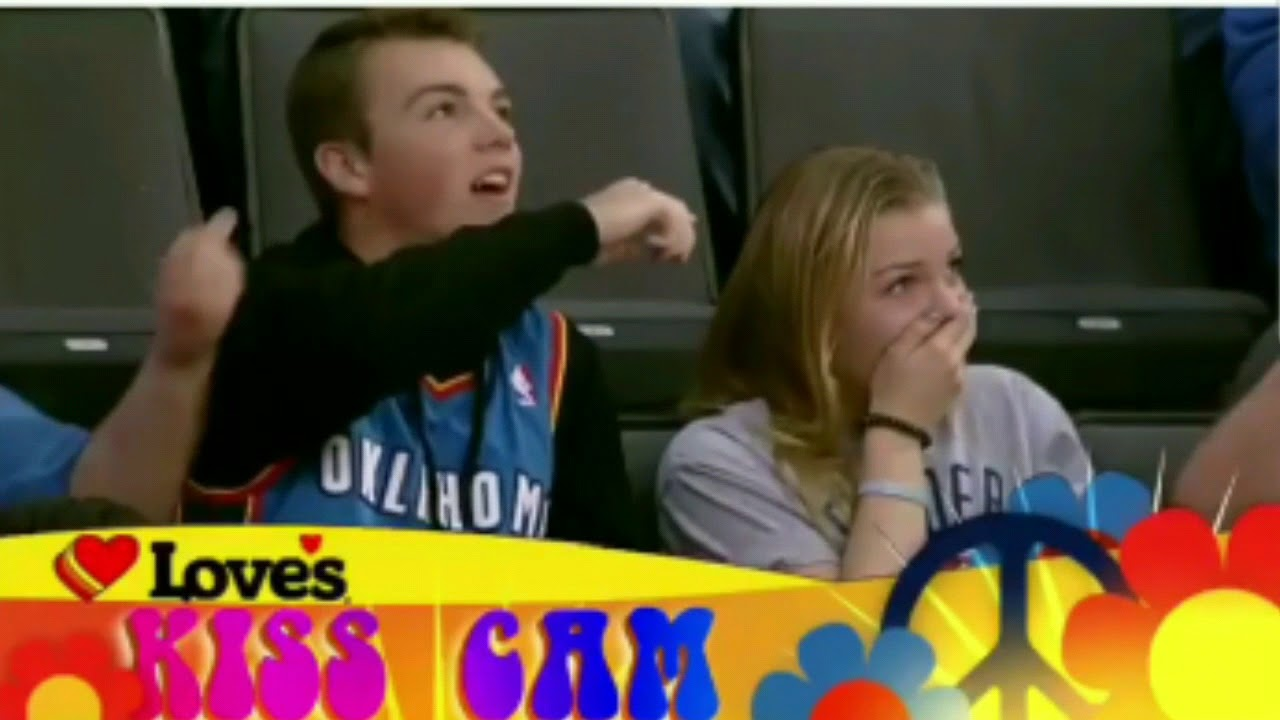 Thunder Put Brother And Sister On Kiss Cam - Youtube-5417