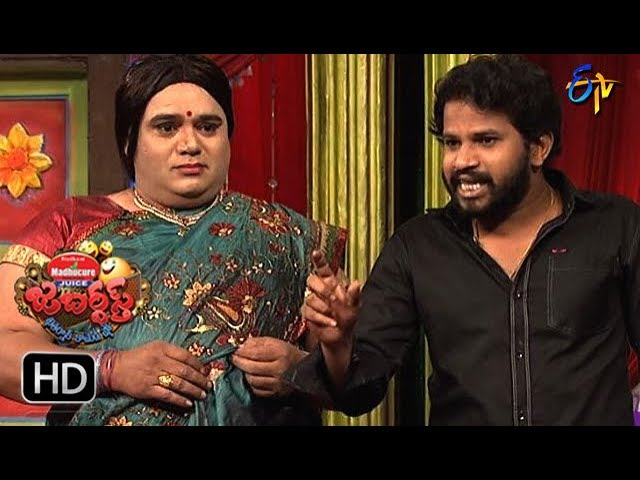 Hyper Aadi, Raijing Raju Performance | Jabardasth | 11th January 2018  | ETV  Telugu