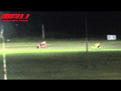 Jack Dover Rollover at Park Jefferson Speedway on August 16th
