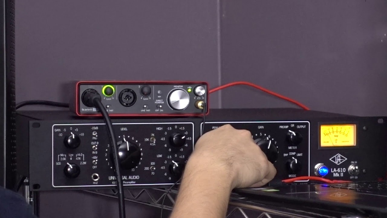 Universal Audio LA 610 Mk ii Comprehensive Vocal Test and Demonstration