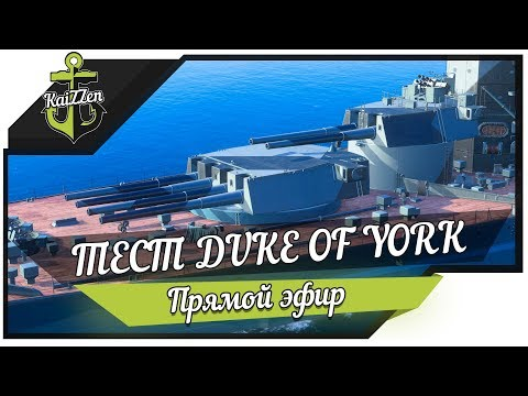 ТЕСТ ДРАЙВ ★ Линкор без хилки DUKE OF YORK