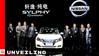 2019 Nissan Sylphy Based On Leaf Unveiling