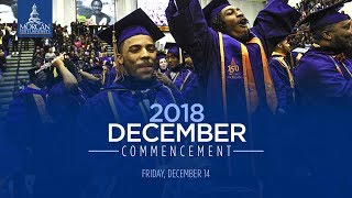 Morgan State University 2018 December Commencement Video