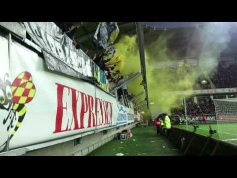 AIK-fansen på Gamla Ullevi