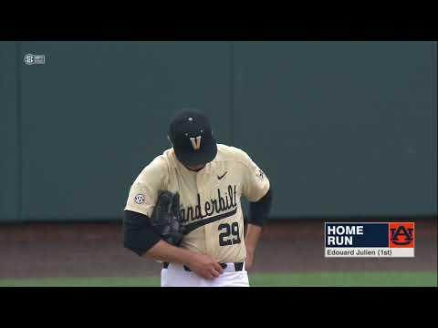 Auburn Baseball vs Vanderbilt Game 2 Highlights