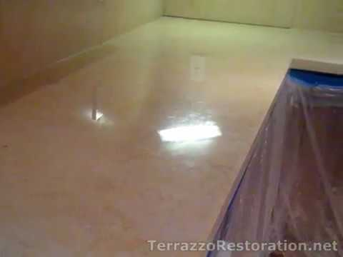 How To Make Your Marble Floors Shine YouTube - Marble floor shiner