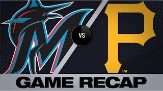 Diaz, Reynolds lead Pirates' comeback in 9th | Marlins-Pirates Game Highlights 9/4/19