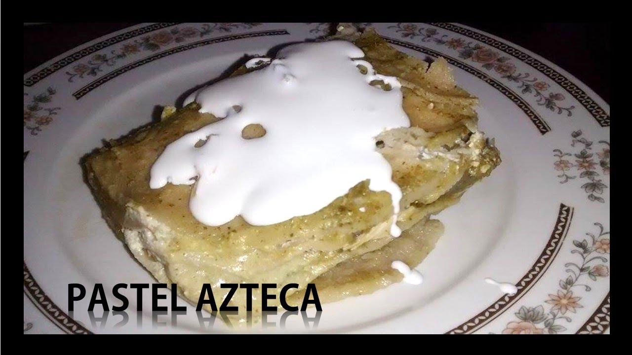 Como hacer pastel azteca f cil rica r pida econ mica for Canal cocina mexicana