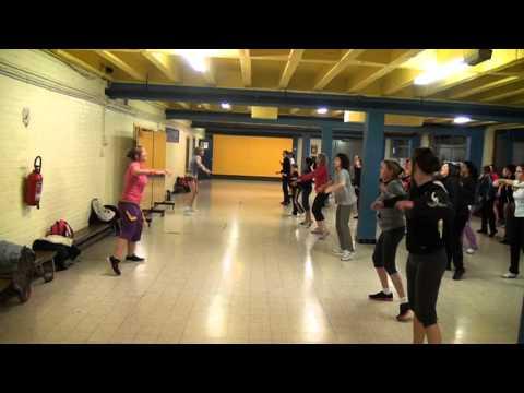 Zumba a Liege - Warm up 1 - C2C feat Derek Martin - Happy