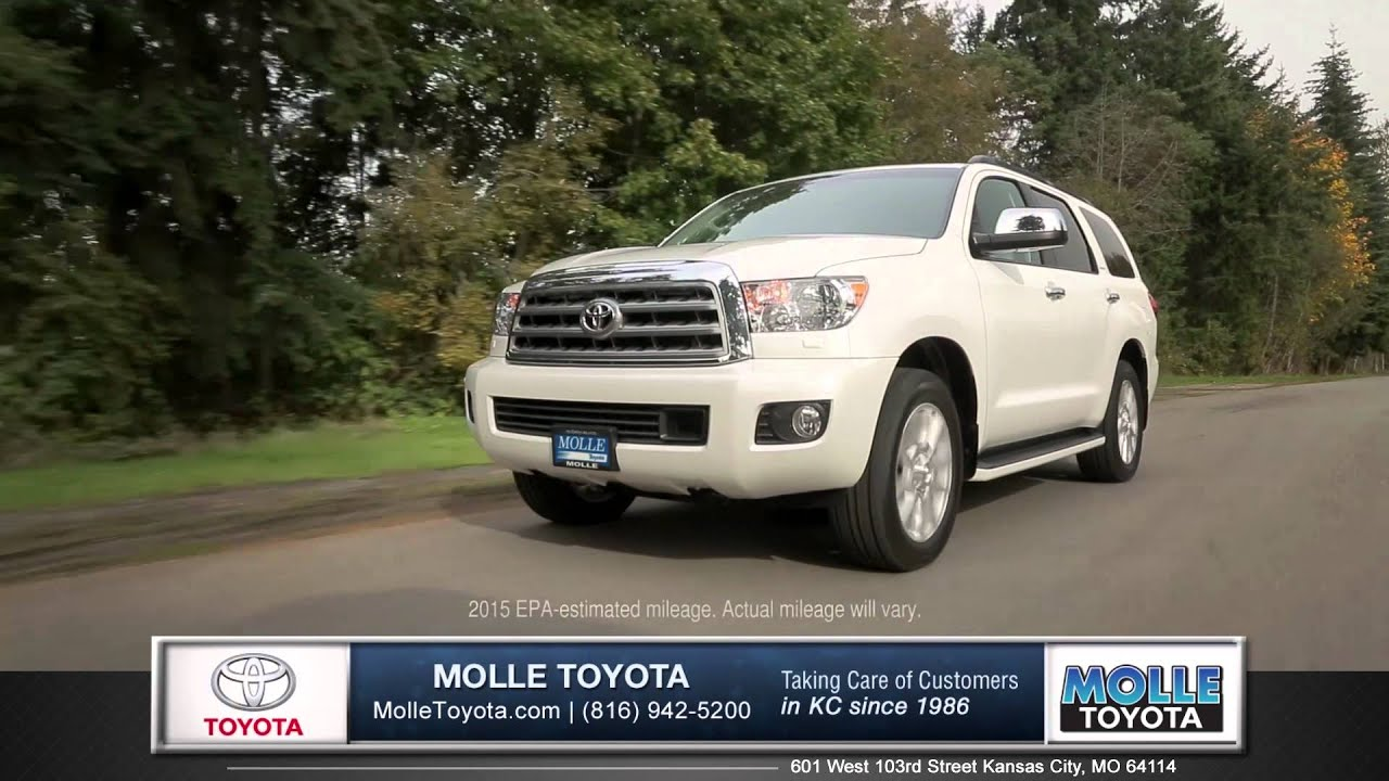 2017 Toyota Sequoia Walk Around Kansas City Mo Molle