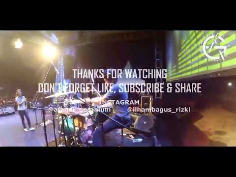 Tak selalu & PHP - afandi GERANIUM cover live at kampung jakcloth jember