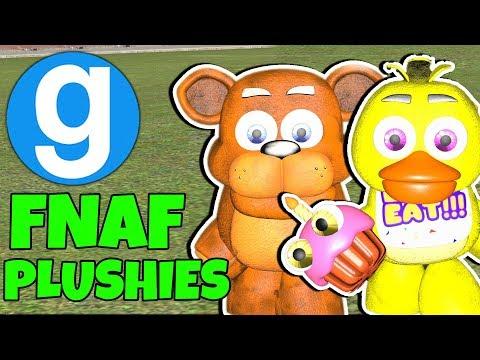 Brand New FNAF Plushies NPCs! | Garry's Mod | Five Nights at Freddy's thumbnail