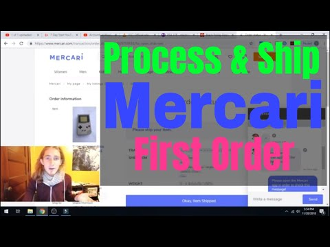 How To Process and Ship Your First Order on Mercari