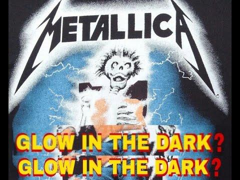 Glow In The Dark Metallica Shirts Myth Exposed!!!!