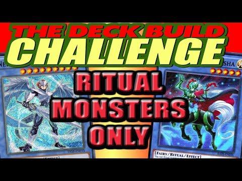 RITUAL MONSTERS ONLY - The Deck Build Challenge w/ Duke Freeman Vs. WindShadow64