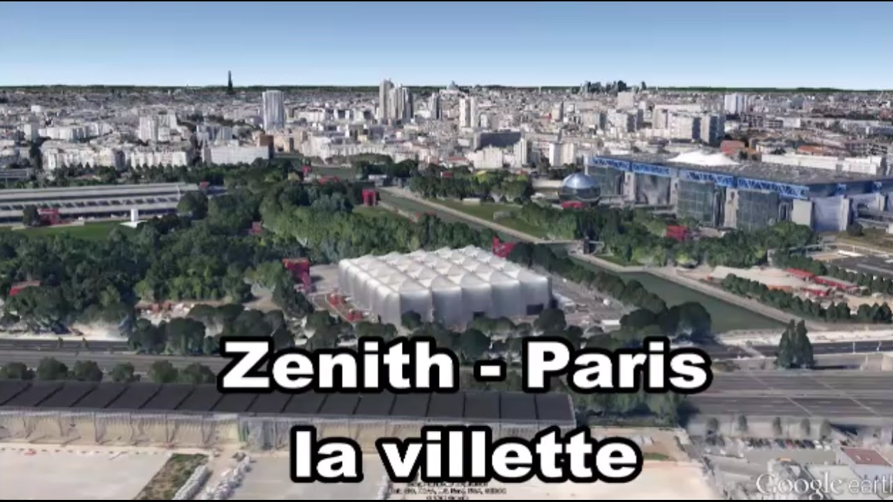 Le Z Nith Paris La Villette Le De France Youtube