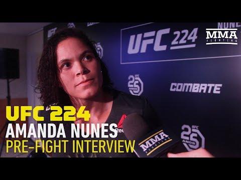 UFC 224: Amanda Nunes Says Cris Cyborg Talk Is 'Dangerous' Ahead of Raquel Pennington Fight